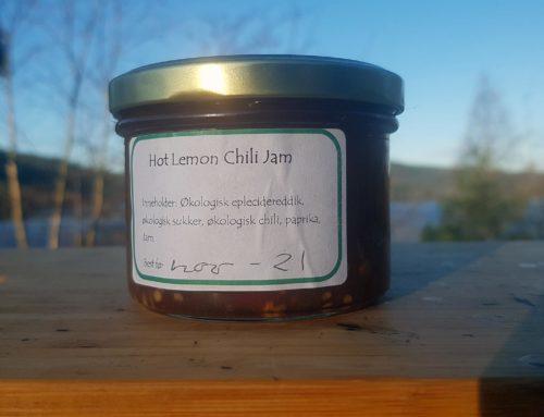 Hot Lemon Chili Jam